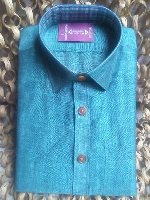 Custom Tailored Handwoven Linen Shirts - Designed For You.