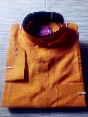 Tailored Khadi Cotton Shirt