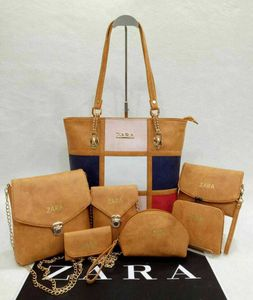 Wood Color Bags
