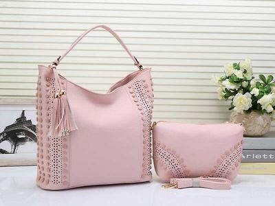Light Pink Combo Bag - Style in Light Pink