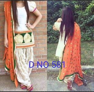 Punjabi style suit