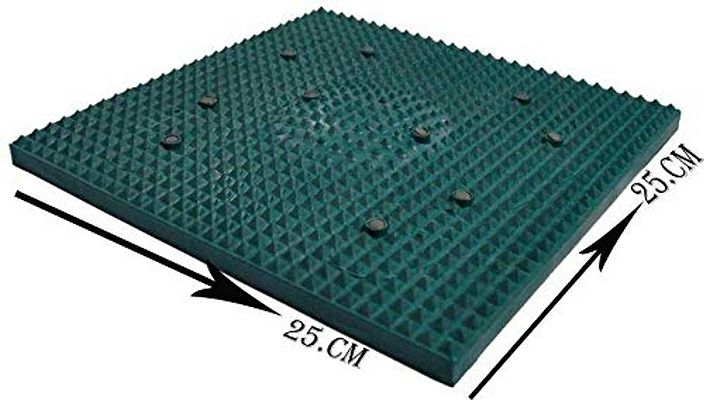 Power Mat with Magnets and Pyramids for Pain Relief Foot Mat