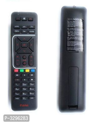 AIRTEL DIGITAL TV HD/SD SETUP BOX REMOTE with Recording Option ( 1 UNIT)