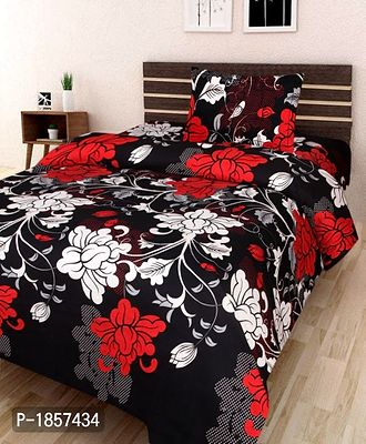 3D Single Bedsheet With 1 Pillow Cover