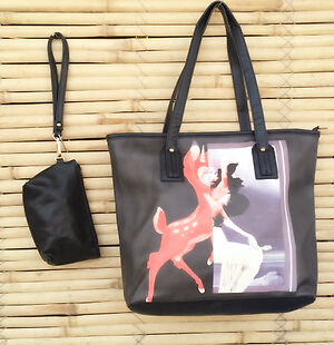 Lady tote bag with pouch %>