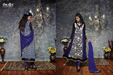 GRANDIOUS GEORGETTE ANARKALI SUIT