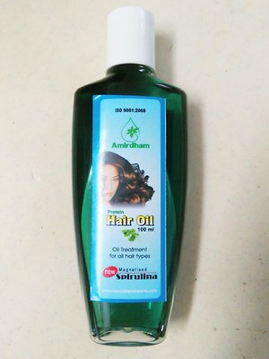 Spirulina Hair Oil