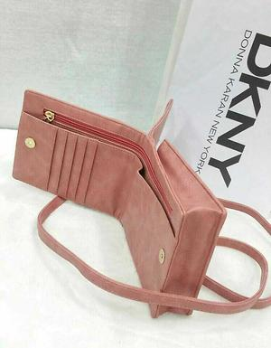 *DKNY SLING WITH  WALLET