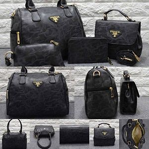 Prada Combo -Speedy 1 compartment Handbag -Sling Bag -Hand Pouch -Small Hand Wallet