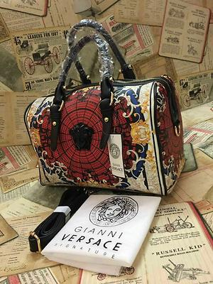 *Versace signature printed speedy bag EXCLUSIVE COLLECTION