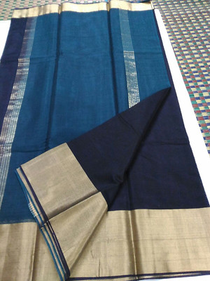 Real silk thread sarees with blouse