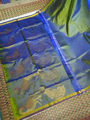Real silk thread sarees