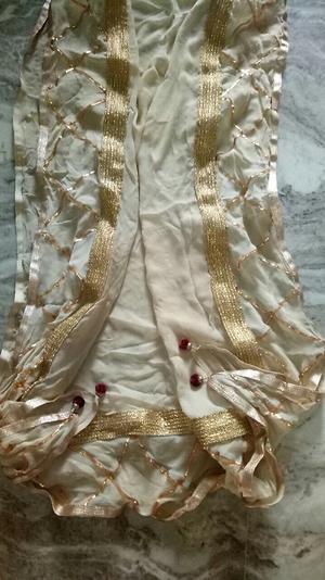 Long jam silk cotton suit