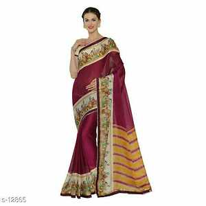 Designer Chinese Chiffon Sarees with Blouse