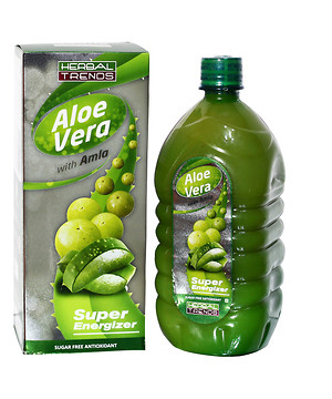 Herbal Trends AloeVera With Amla- Pure 1Ltr.