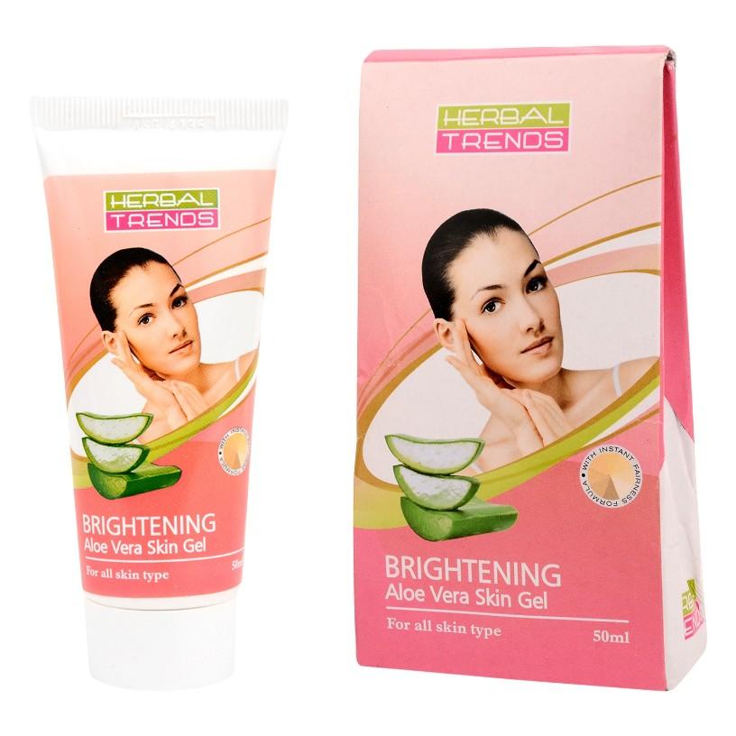 Brightening Skin Gel- Pure aloe vera