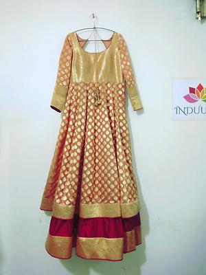 indian party gown