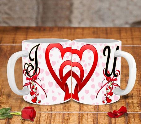 Beautiful Couple Mug - Set of 2 (Valentine's Special)