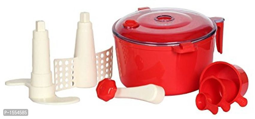 ABS Plastic Dough Maker (Red)