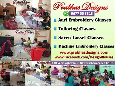 Aari Embroidery Classes