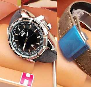 ...banded watches and bags