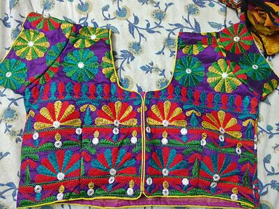 Traditional short sleeve blouses