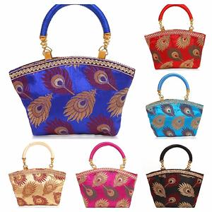 Peacock featherbags
