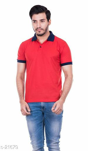 Stylish Tshirts Fabric: Variable (Check Product For Detail)  Size: Variable (Check Product For Detail)  Pattern: Solid  Type: Stitched  Sleeve Type: Half Sleeve  Fabric Care: Do No Iron Directly On Print  Dispatch: 2 - 3 Days
