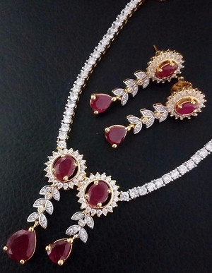 Necklace wid earing
