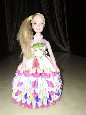 3D origami doll