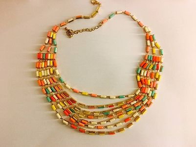 Multi color Pop Neckpiece