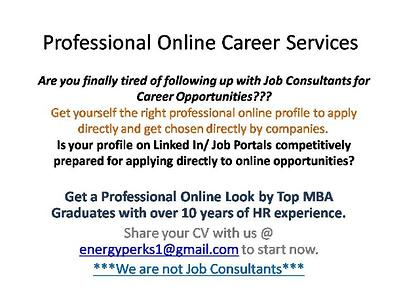 Professional Online Career Services
