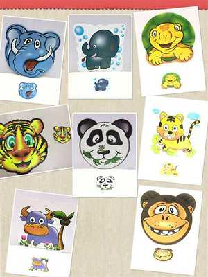 Table  mats  in kids  print