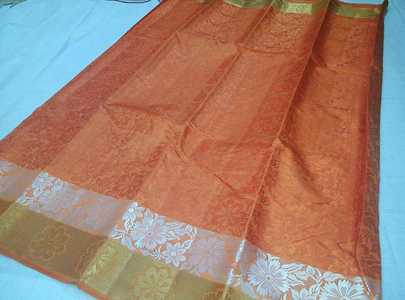 Mahalakshmi sarees  sellers broadcast message  Tusser  silk sarees, Running blouse Price Each  Ready to dispatch.