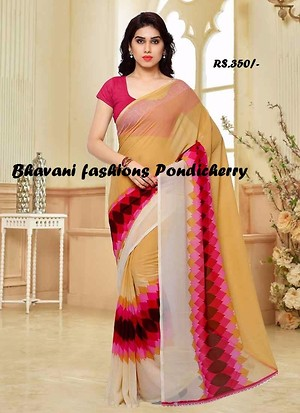 LIGHT WEIGHT PRINTED SAREE