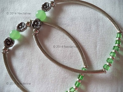 Girly Green Anklets