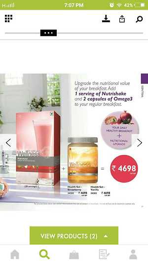 Oriflame wellness health set
