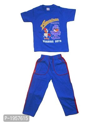 Awesome Kidz Tshirt and Pant Set with Pockets for Boys