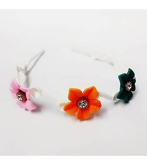 Fancy Hair Band with flower pattern - MCHB0012