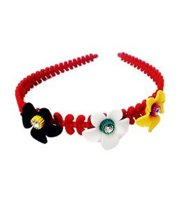 Fancy Hair Band with flower pattern - MCHB0010