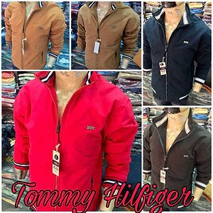 REPLICA ARTICLE IN TOMMY HIGH QUALITY JACKETS FOR MEN  BRAND : *TOMMY HILFIGER*  PATTERN : SOLID SHADE JACKETS  FABRIC : PREMIUM QUALITY THICK COTTON WASHING  SIZES: M L XL XXL
