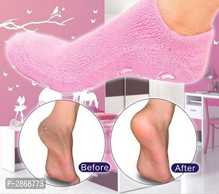 Silicon Gel Heel Pad Socks
