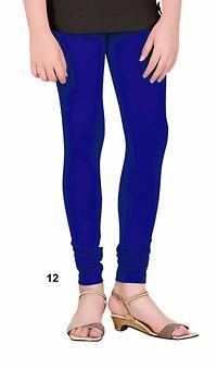 Royal Blue Cotton Lycra Legging