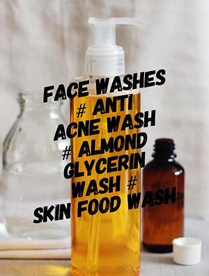Face washes