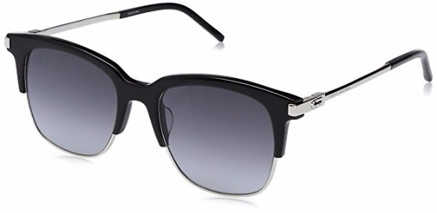 Marc Jacobs Women's Marc138s Square Sunglasses, Black Palladium/Dark Gray Gradient, 51 mm