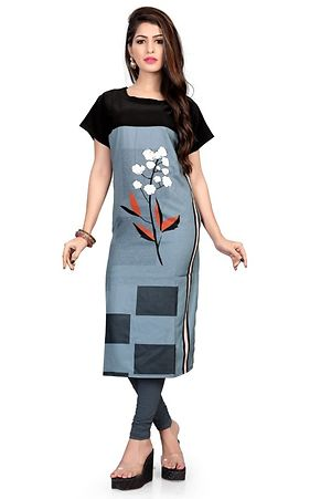 Multicolor Digital Printed Kurtas GAC-1003
