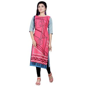Multicolor Digital Printed Kurtas   GAC-1010