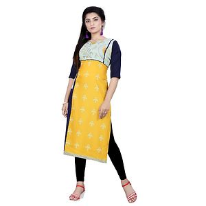 Multicolor Digital Printed Kurtas GAC-1015