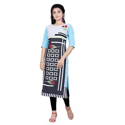 Multicolor Digital Printed Kurtas GAC-1009