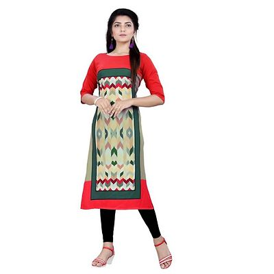 Multicolor Digital Printed Kurtas GAC-1011